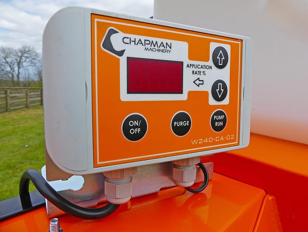 Pulvérisateur à rouleau Chapman W240