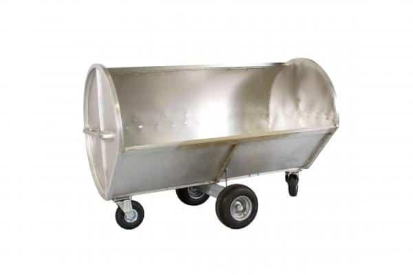 Chariot de curage inox Kneilmann 2400 litres