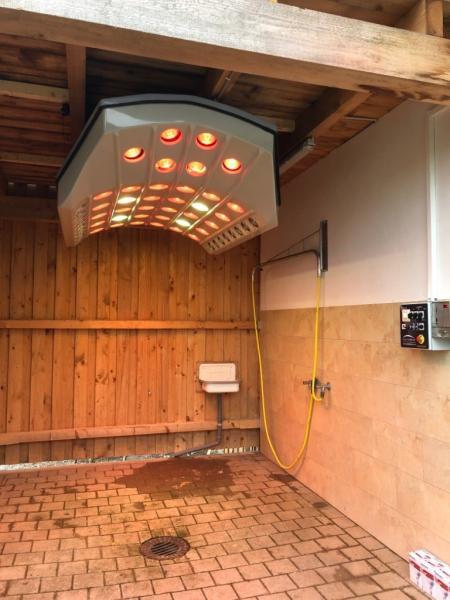 Solarium pour chevaux PMsolar Summerwind Premium