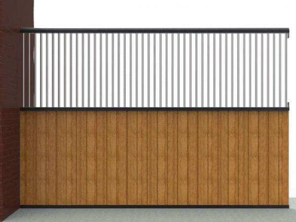 Séparation de boxe bois / grille